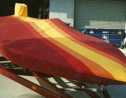 Low Profile Boat Cover